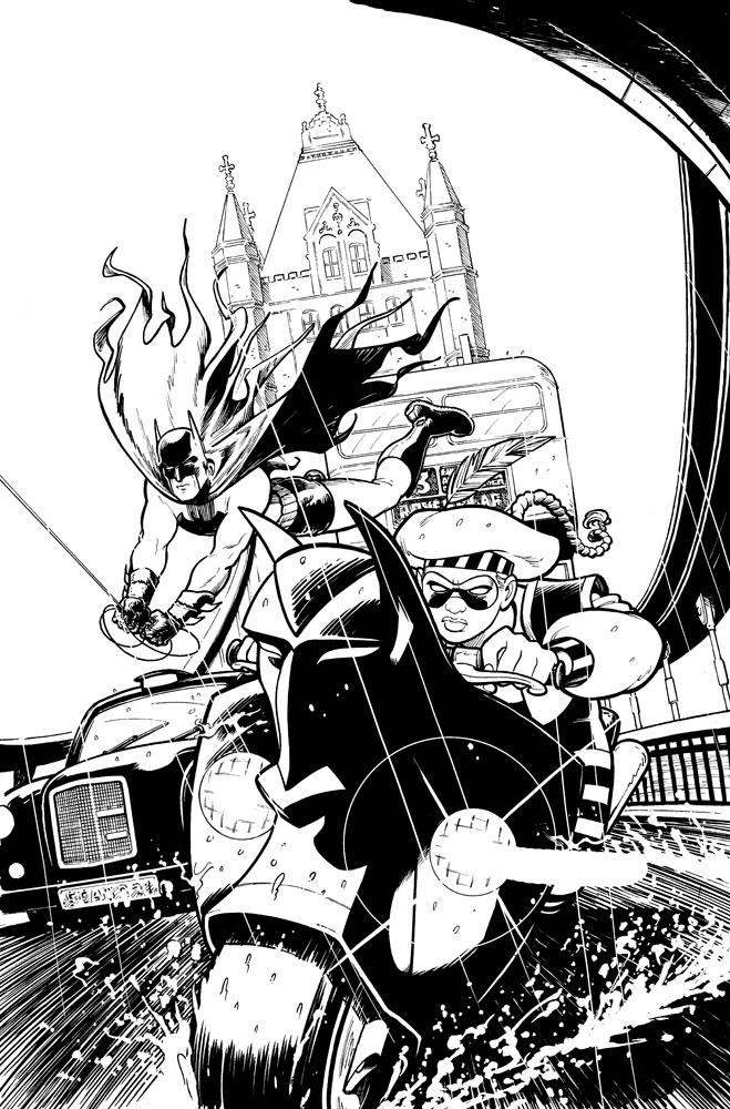 cameron stewart new artist on batman   u2022 comic book daily