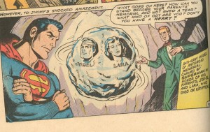 Not shown: Superman pimpslapping Jimmy for this act of dickery.