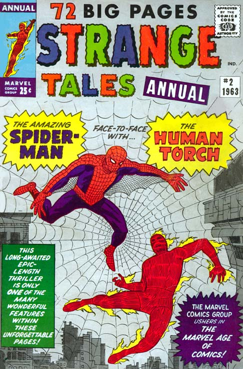 strange tales annual 2