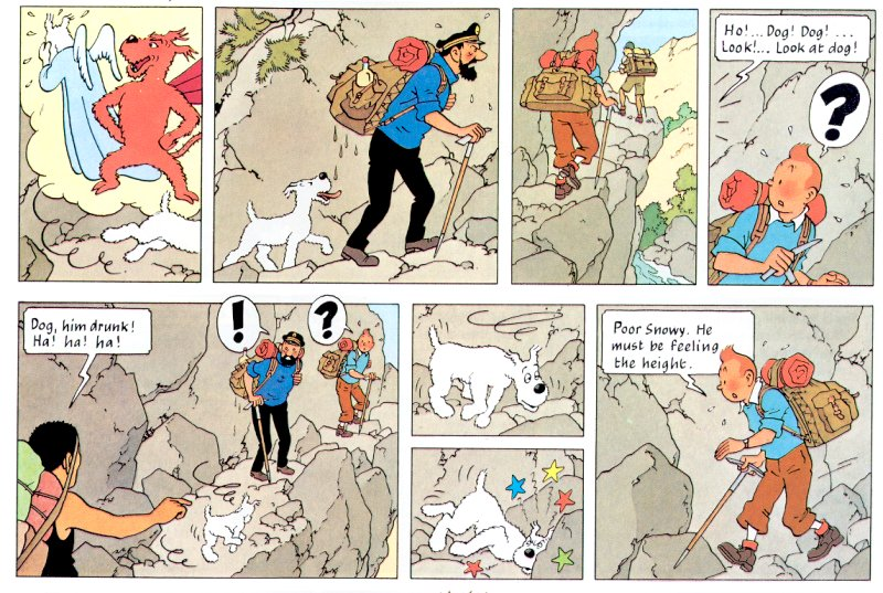 I Love Comics Tintin