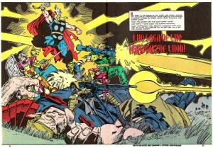 Thor vs. Unstoppable hoards