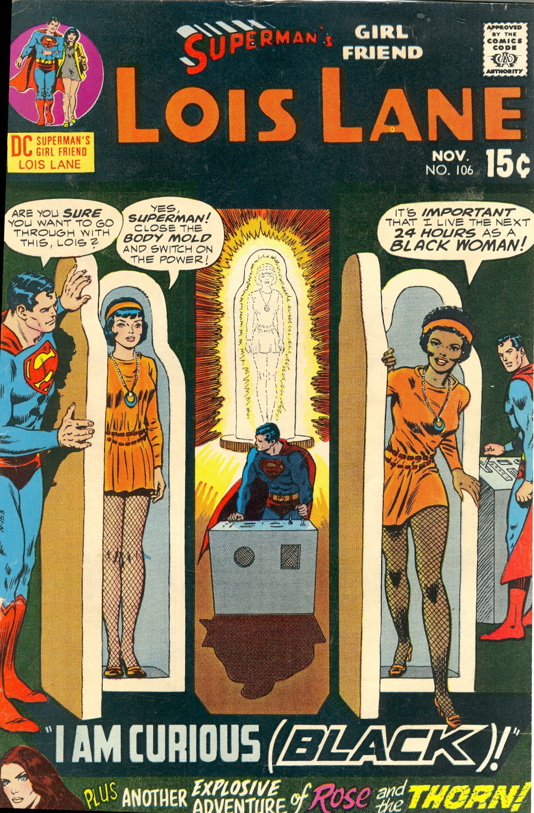 Image result for Lois Lane into a black woman though.
