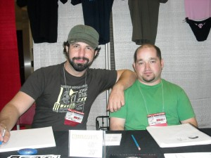 Ramon Perez and Rob Cloughler created BNS together