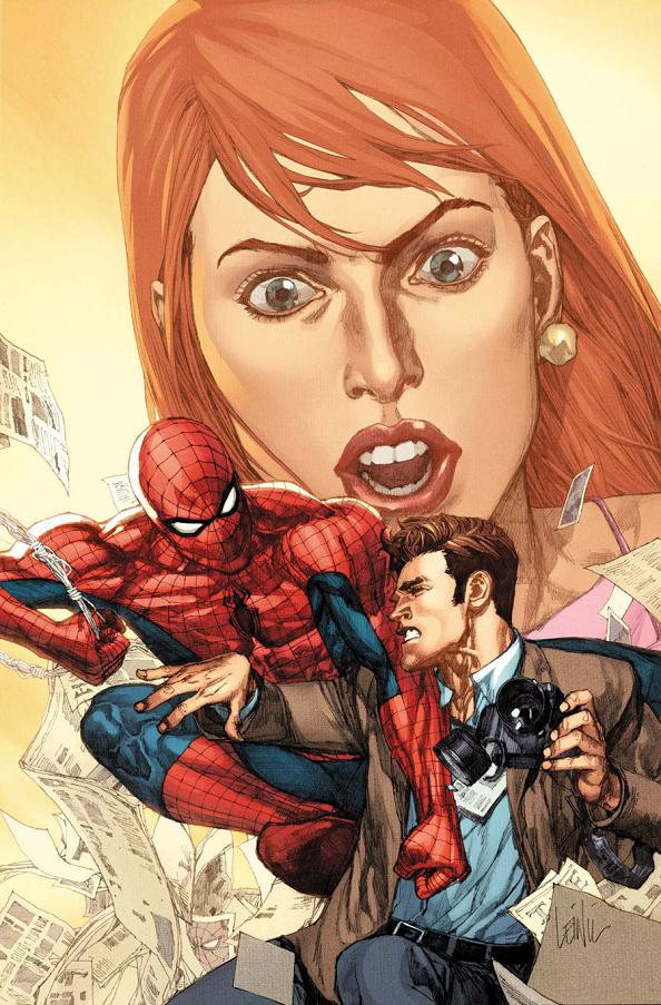 I'm a huge Spider-Man fan, which also makes me a massive idiot for not thinking to ask Fred some Spider-Man related questions.