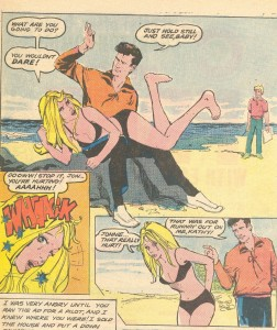 If you ever have martial problems, this comic has taught us that the answer is a good spanking!