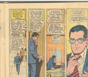 An average day in the life of Clark Kent.