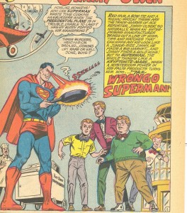 We've got tall, short, fat but no one normal who wants to dress like Jimmy Olsen...big surprise.