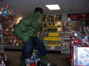 The other approach they don't mention is that they have the Hulk as a security guard.
