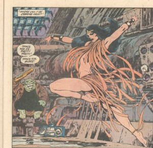 Before becoming the leader of the Furies, Barda spent a year at the New York Academy of Dance.
