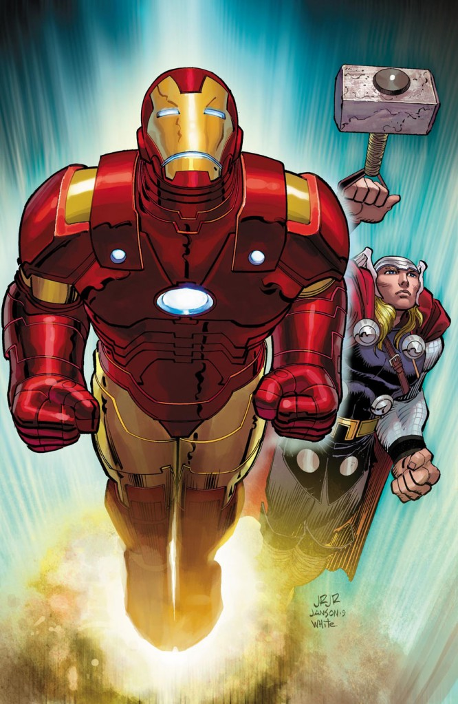Iron Man / Thor FCBD Cover by JR jr