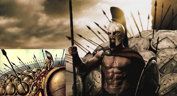 300 Xerxes 300 Comic