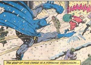 This is what Batman does on Saturday nights for kicks.