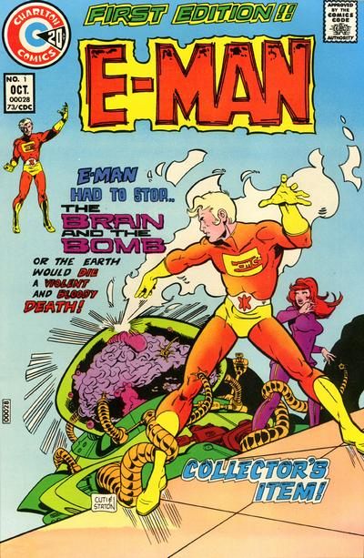 Favourite Non-Marvel or DC American Comics Character Eman-1