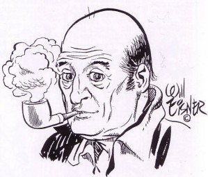 Any chance for us to post a Will Eisner self-portrait we'll do it.