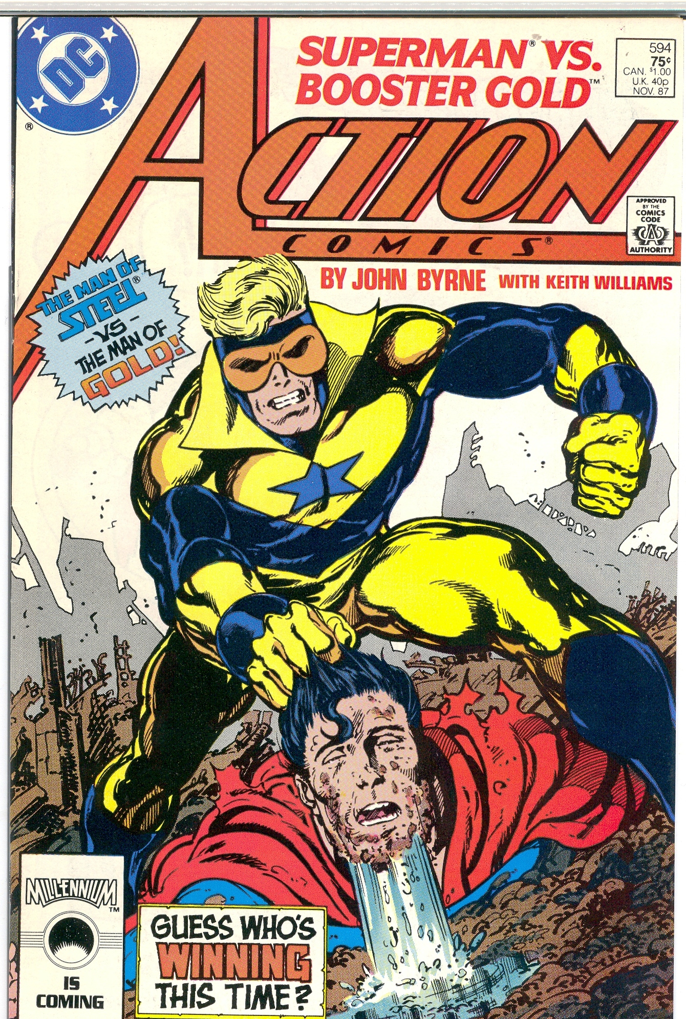Comic Book Cover Pictures : Crazy comic covers action comics quot all that glisters