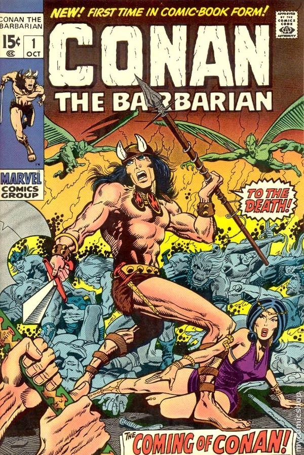conan the barbarian comic book. Conan the Barbarian was an