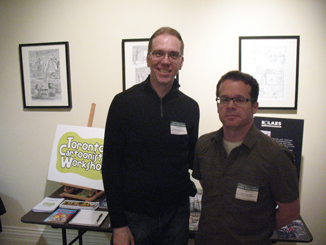 Walter Dickinson - Toronto Cartoonists Workshop