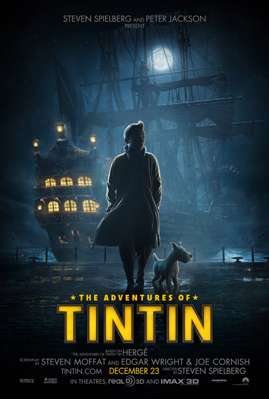 First Tintin Movie Trailer