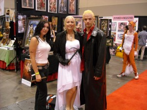 Faith, Buffy and Spike