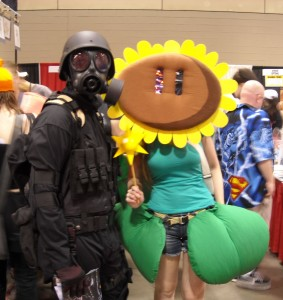 Soldier and Sunflower