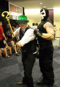 The Riddler and Bane