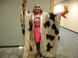 The Macho Man Randy Savage
