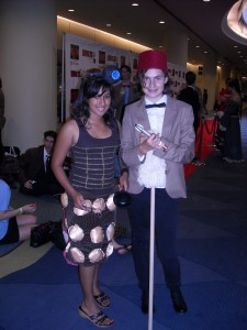 Dalek and Dr. Who