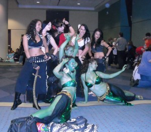 Steampunk Belly Dancers
