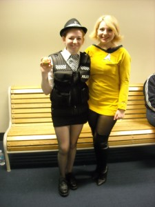 Amy Pond and Star Trek