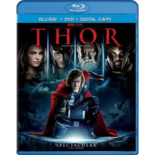 Thor on Blu-Ray Sept 13