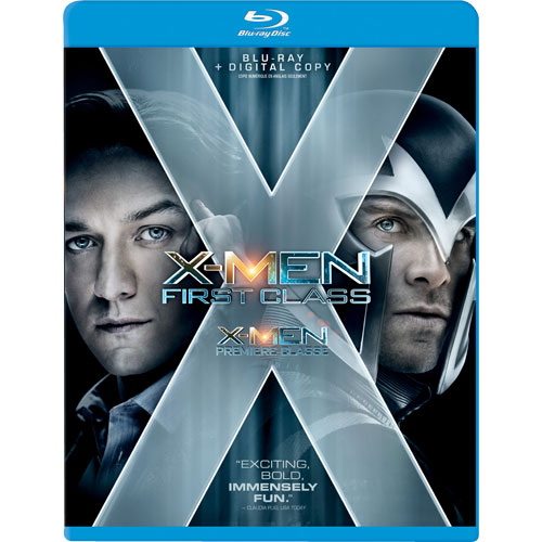X-Men First Class on Blu-Ray & DVD Sept 9