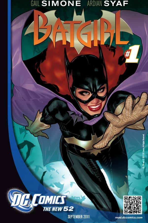DC New 52 : BATGIRL Batgirl-1