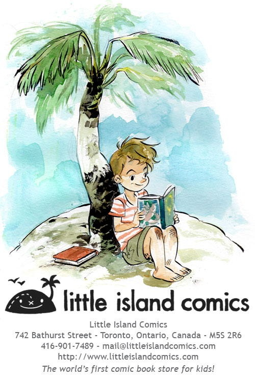 Little Island Comics