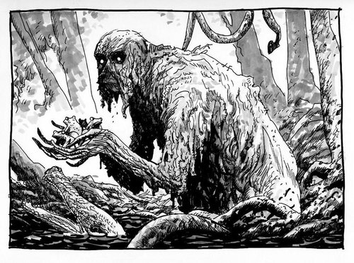Guy Davis' Swamp Thing