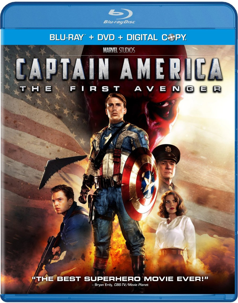 Captain America on Blu-Ray Oct 25th
