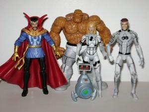 Marvel Universe FF 4 Set with Dr. Strange