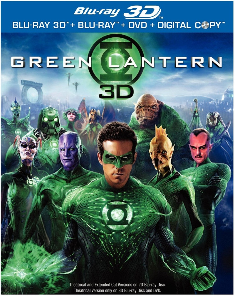 Giveaway: Green Lantern Blu-Ray DVD Combo
