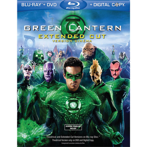 Green Lantern on Blu-Ray Oct 14th