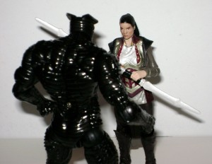 Thor Wave 2a figures Lady Sif and Destroyer