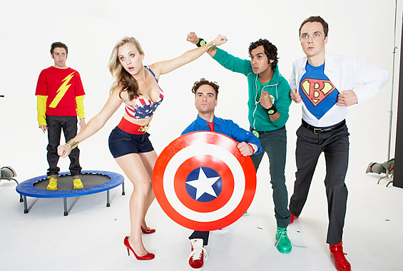 Bleeding Cool and The Big Bang Theory