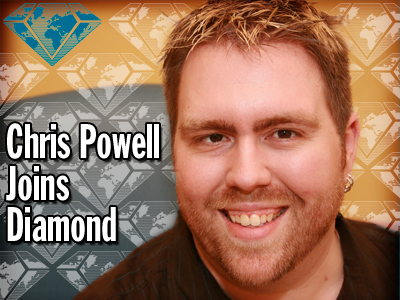 Diamond Hires Chris Powell