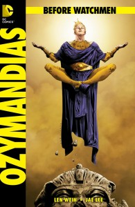 Before Watchmen Ozymandias Cover