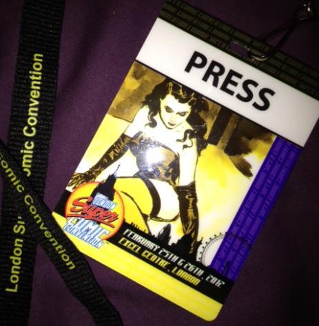London's Super Comic Convention