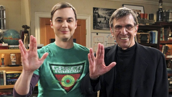 Spock on Big Bang Theory
