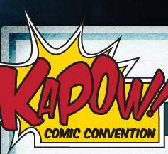Kapow Comic Con, London May 19-20 2012