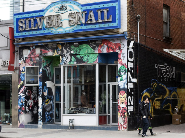 Toronto Comic Landmark Moves On