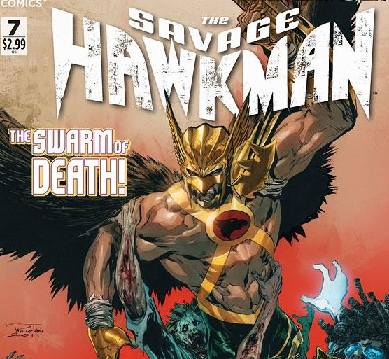 The Savage Hawkman #7