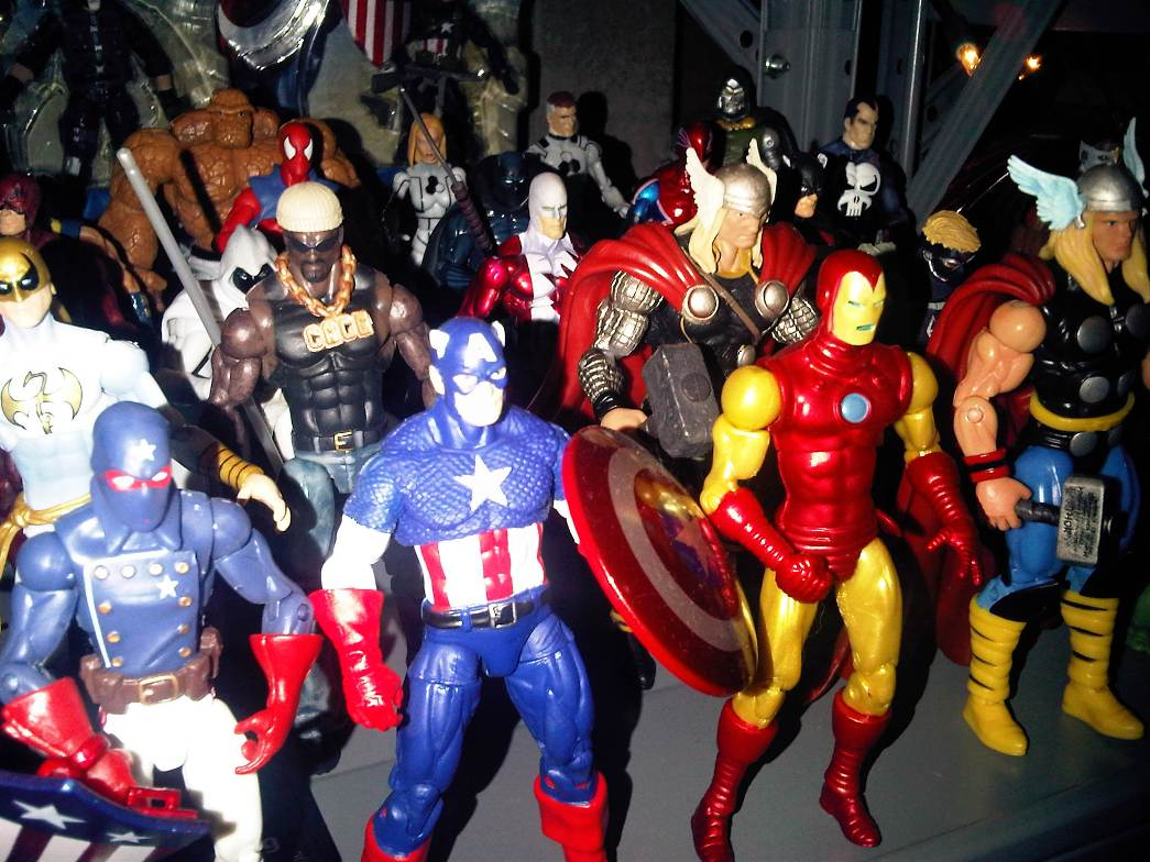 Buying Action Figures…Retail