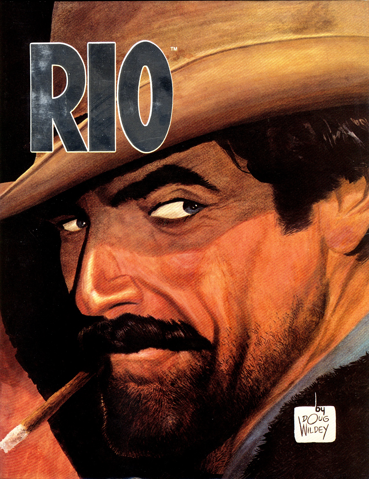 Rio By Doug Wildey Graphitti Designs Edition