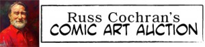 Russ Cochran's Comic Art Auction banner
